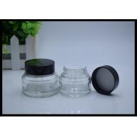 Quality Clear Glass Cosmetic Cream Jar Containers 30g 50g for sale