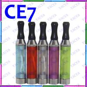 Quality 3ml Volume Capacity Colorful CE7 Plus E Cig Vaporizer Detachable Coil Head for sale