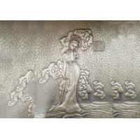 Quality Fairy Bronze Relief Sculpture Ancient Style Metal Wall Art Corrosion Stability for sale
