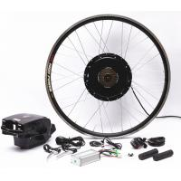 Quality Easy Installation Electric Bicycle Conversion Kit With Battery Efficient Brushless Motor for sale