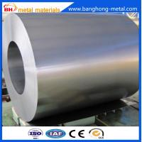0.15-0.80mm galvanized steel coils, normal spangle, 20-150g zinc coating
