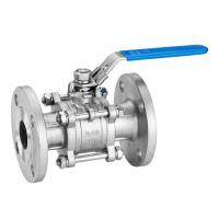 Quality Double Flanged Full Bore Ball Valve PTFE Sealing ANSI Certification for sale