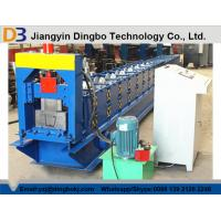 China 15 M / Min Automatic Rain Gutter Roll Forming Machine With Plc Control System on sale