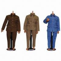 China Custom Action Figure Uniforms for 12-inch Articulated Dolls on sale