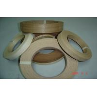 Quality Natural Edge Banding Veneer Enviromental Glue , 0.5 mm Thickness for sale