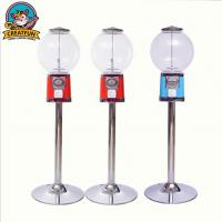 China Electrical Vintage Bubble Gum Machine , Vertical Chewing Gum Vending Machine on sale
