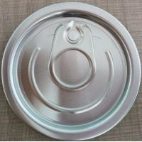 Buy cheap 202# 52mm Aluminum full-open easy open end with safe-rim from Wholesalers
