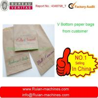 Buy cheap kraft paper bags making machine from Wholesalers