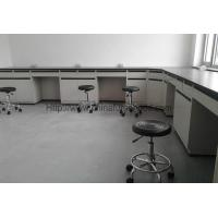 Quality Commercial Laboratory Wall Cabinets Multi Choice Worktops With Stool Chairs for sale