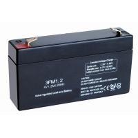 Buy cheap SLA fire alarms, smoke detectors Emergency Lighting Battery Replacement (6v 1.2ah, 3FM1.2) from wholesalers