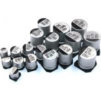Quality 10.20mm Height Aluminum Electrolytic Capacitor SMD Cap 105C SMT FK Series for sale