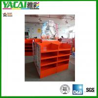 Quality 100% recyclable cardboard Pallet display with 4C offset printing POS/POP Display stand for sale