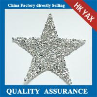 Quality YAX Flat Back Glass Stones Patches,Glass Stone Patches Flatback,China Wholesale Patches Glass Stone for sale