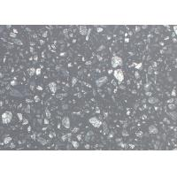 Quality Sparkle Black Galaxy Artificial Quartz Stone Countertops Slab Wall Floor Tiles for sale