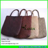 992cc6e693 Buy cheap fashion lady straw beach bags designer seagrass straw tote bags  from wholesalers