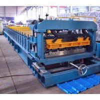 Quality 7.5 Kw Gimbal Gearbox Drive Roof Rolling Forming Machine PLC Frequency Control System for sale