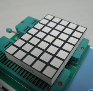 China Square Dot Matrix Led Display , 5x7 Dot Matrix LED Running Display on sale