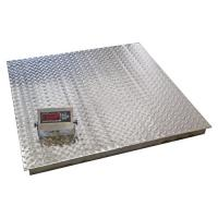Quality Stainless Washdown Industrial Floor Weighing Scales 2 Ton Weighing Machine for sale