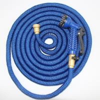 Quality Flexible Plastic Shrinking Garden Hose With Plastic Quick Connector for sale