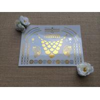 Quality Gold metallic tattoo for sale