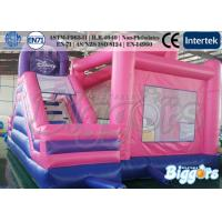 Quality Pink Princess Inflatable Bouncer Combo Kid's Party Games Bouncy Castle for sale