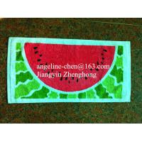 Quality 100% cotton printed gift towels for sale