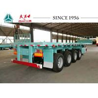 Quality 4 Axle Flatbed Trailer For Sale, 40Ft Flatbed  Trailer For Container Transport for sale