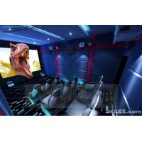 Quality 9 Seats 5D theater With Genuine Leather Motion Theater Chair for sale