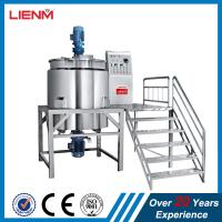 Quality 100L 200L 500L 1000L 2000L Laundry Detergent Fabric Conditioner Processing Tank Manufacturing Tank Production Line for sale