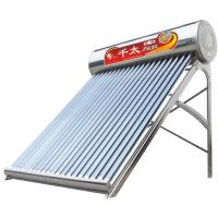 Quality Stainless steel solar water heater with 180/200/240/300/360/420/480L for sale