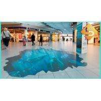 Quality point of sale floor advertising stickers for sale
