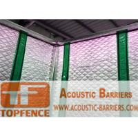 Quality Temporary Sound Barriers Fence 40dB noise Industrial Acoustic Curtains Waterproof Acoustic Sound Barrier for sale
