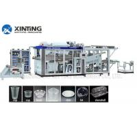 Automatic HDPE Recycling Machine Plastic Thermoforming