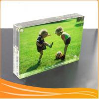 Quality Highlight crystal acrylic magnetic picture frame for sale