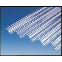 China Bayer / GE Polycarbonate Sheet , Corrugated Greenhouse Panels High Strength on sale