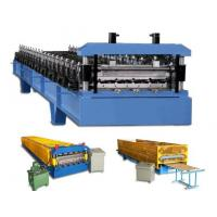 Quality 50Hz 3phases low noise custom sheet metal forming machine with CE for Roof for sale