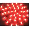 Quality 10 ft reel DMX 24v 50mm RGB pixel led light strings globe 3D balls for outdoor decoration project for sale