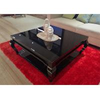 Living Room Square Low Hotel Coffee Table Wooden High Grade 1000 * 1000 * 450mm