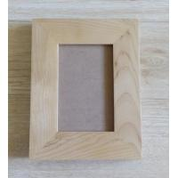 Quality American alder wood frames, wooden photo frames with glass front and standbacks for sale