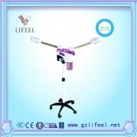 China Electric beauty salon double hot & cold facial steamer with 2 probes for sale on sale
