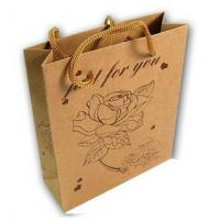 Buy Brown Kraft Paper Shopping Bags at wholesale prices