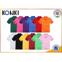 Quality Colorful Custom Printed Polo Shirts , Personalized Polo Shirts For Women for sale