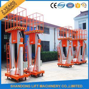 Quality 200kg 10m Movable Aerial Work Platform Lift , Hydraulic Safety Work Platform Rental for sale