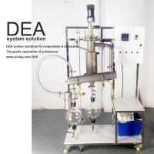 Atmospheric Laboratory Distillation Equipment Short Residence Time Reduced Pressure