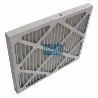 Quality Galvanized Prime High Flow Air Filter Non Woven Cloth Filter Media 95% Efficiency for sale
