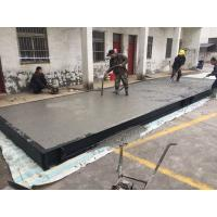 Quality Prefabricated Concrete Weighbridge Truck Axle Scales With Reinforced Interior Structure for sale