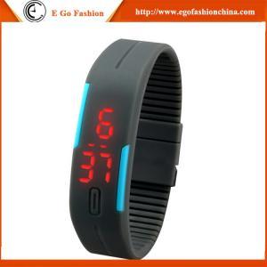 Black Red Orange Watch Quartz Analog Watch Unisex Boys Girls Kids Watch Slap LED Watches
