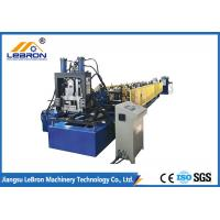 Quality 10 Meter C Z Purlin Roll Forming Machine High Efficiency Durable PLC Control for sale