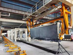 Quality H4810mm Grouping Crane AAC Machine Overturn Table for sale