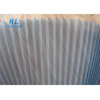 Quality Good Flexibility Plisse Fly Screen , Smooth Sliding Retractable Fly Screens for sale